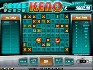 Bonus Keno Jackpot
