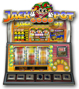 Jackpot 6000 - en klassisk spilleautomat