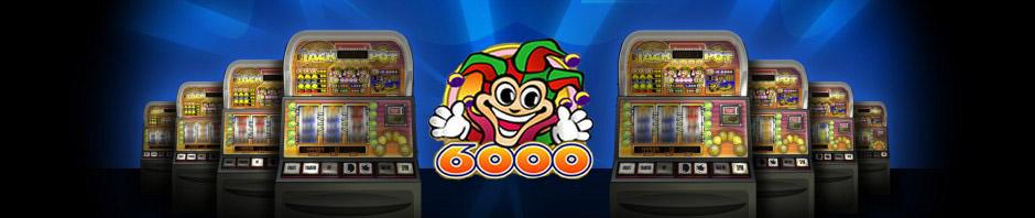Jackpot 6000 - spilleautomat fra NetEnt