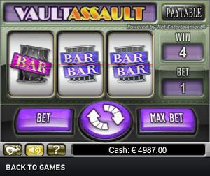 Vault Assault Jackpot