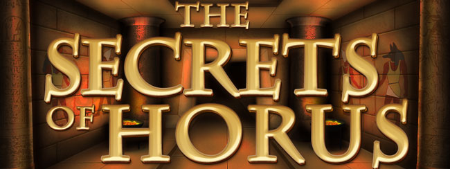 Secrets of Horus fra Net Entertainment