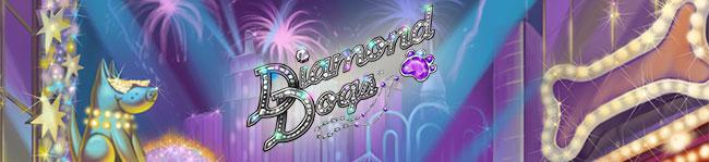 Diamond Dogs - spilleautomat fra NetEnt