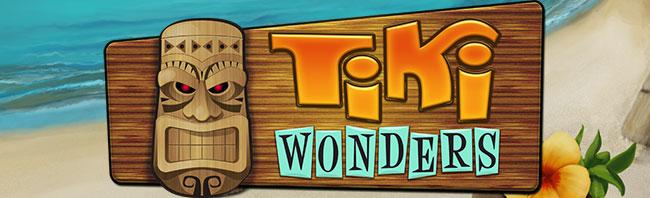 Tiki Wonders - spilleautomat fra NetEnt