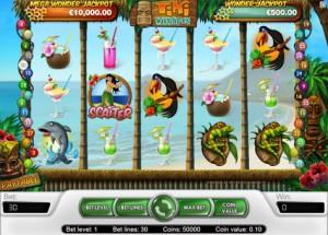 Tiki Wonders fra Net Entertainment