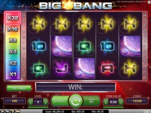 Big Bang - spilleautomat fra NetEnt